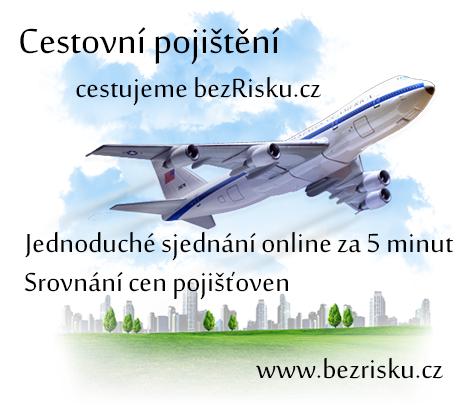 Cestovní pojištění on line. Jde to levněji.
